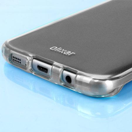 FlexiShield Samsung Galaxy S7 Edge Gel Deksel – Frosthvit