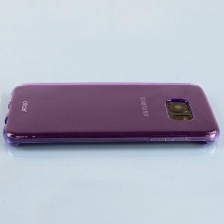flexishield samsung galaxy s7 edge gel case purple