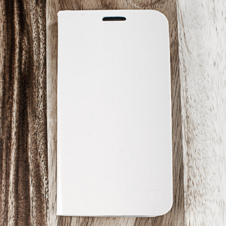 Olixar Leather-Style Samsung Galaxy S7 Wallet Stand Case - White