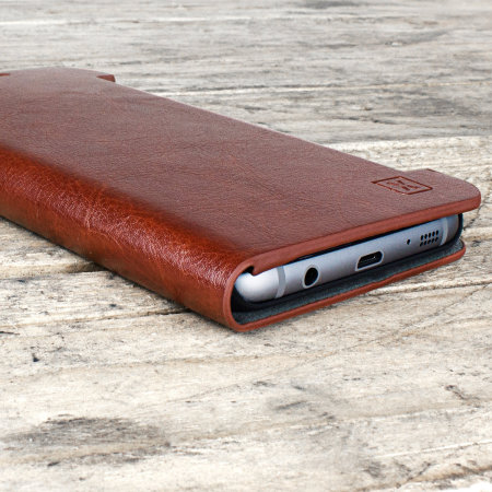 have tested olixar leather style samsung galaxy s7 edge wallet stand case brown then switched