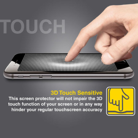 Olixar Anti-Blue Light Tempered Glas iPhone 6S / 6 Displayschutz