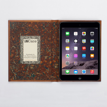 KleverCase iPad Mini 4 Book Case - Vintage Hardback