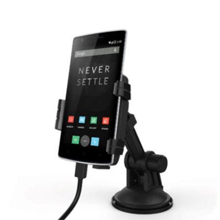 Kidigi Universal USB-C In-Car Mount Cradle & Charger for Smartphones