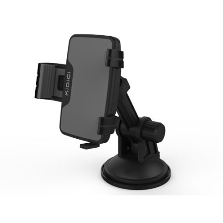 kidigi universal usb c in car mount cradle charger for smartphones