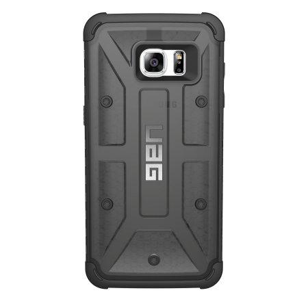 super popular 394f6 19b3e UAG Samsung Galaxy S7 Edge Protective Case - Ash / Black