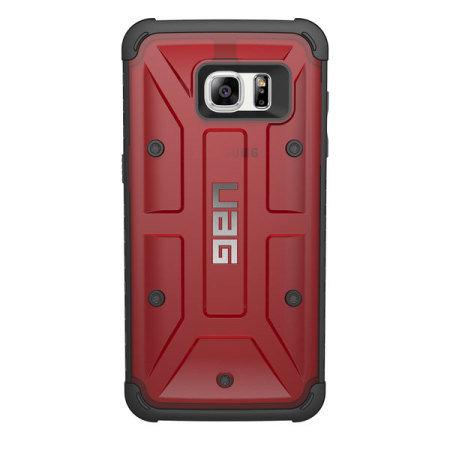 UAG Samsung Galaxy S7 Edge Protective Case - Magma / Black