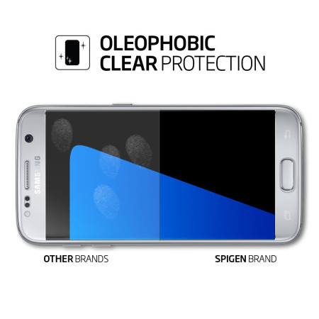 Spigen LCD Galaxy S7 Film Crystal Screen Protector (3 Pack)