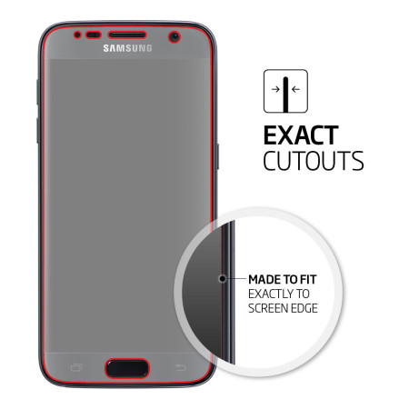 spigen samsung galaxy s8 film crystal screen protector (3 pack)