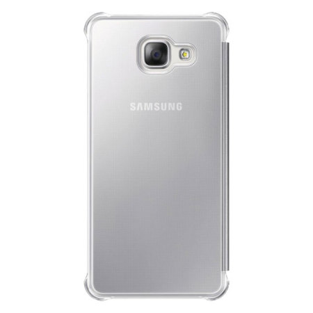 new styles d5d6a e4467 Official Samsung Galaxy A5 2016 Clear View Cover Case - Silver