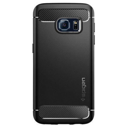 new concept a973b 287b1 Spigen Rugged Armor Samsung Galaxy S7 Tough Case - Black