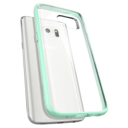 spigen ultra hybrid samsung galaxy s7 edge case mint