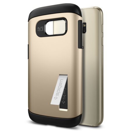 Coque Samsung Galaxy S7 Spigen Slim Armor - Or