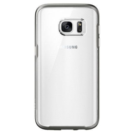 Spigen Neo Hybrid Cyrstal Samsung Galaxy S7 Case - Gunmetal
