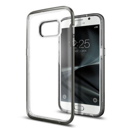 low priced 393fa c9235 Spigen Neo Hybrid Crystal Samsung Galaxy S7 Case - Gunmetal