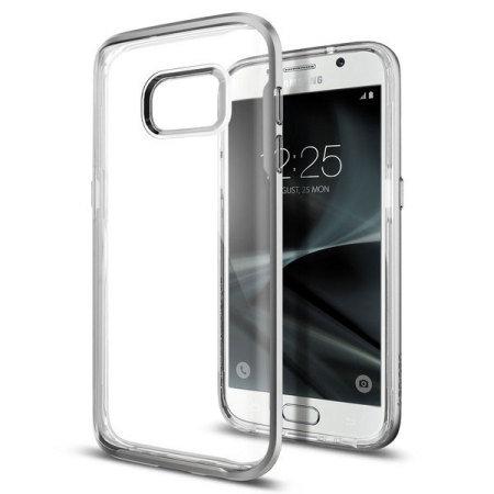 Spigen Neo Hybrid Samsung Galaxy S7 Case - Silver