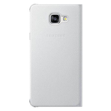Official Samsung Galaxy A5 2016 Flip Wallet Cover - White