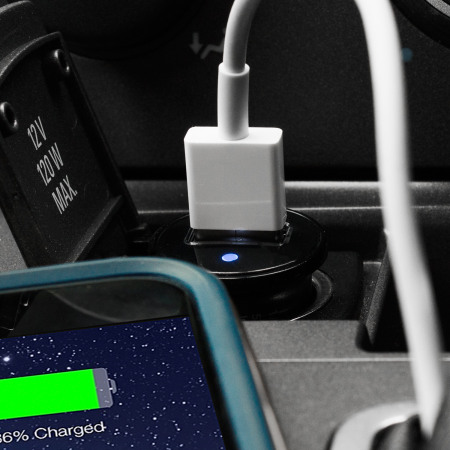 Olixar Universal 1A Single USB Miniature Car Charger