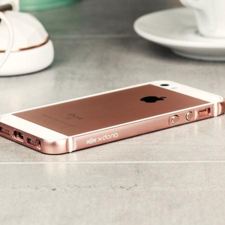 X Doria Bump Gear Plus Iphone Se Aluminium Bumper Case Rose Gold