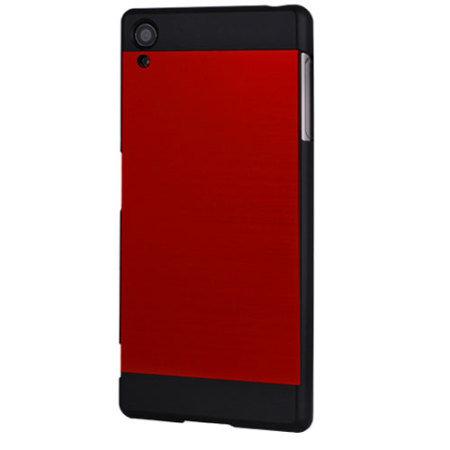 Motomo Ino Metal Sony Xperia Z5 Case - Red / Black