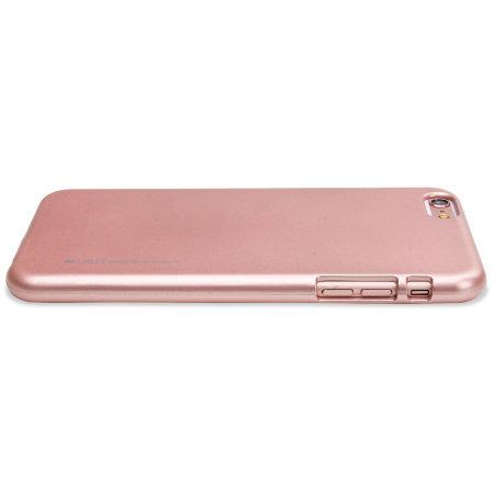 Mercury Goospery iJelly iPhone 6S / 6 Gel Case - Rose Gold
