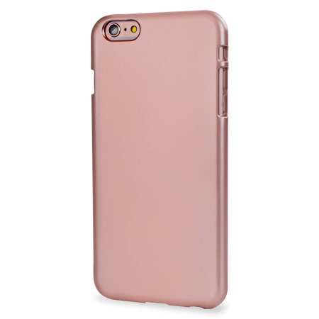 mercury goospery ijelly iphone 6s 6 gel case rose gold