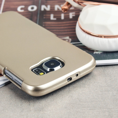 Mercury iJelly Metallic Case Samsung Galaxy S6 - Gold
