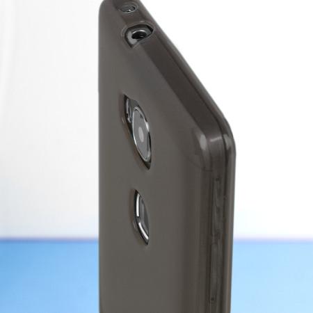 FlexiShield Huawei Honor 5X Case - Smoke Black