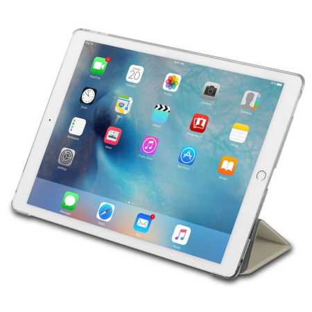 Patchworks PureCover iPad Pro Case with Apple Pencil Holder - Gold