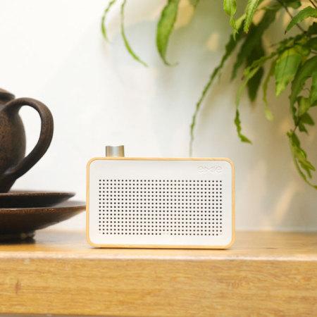 Enceinte Emie Vintage En Bois Bluetooth - design au look Radio