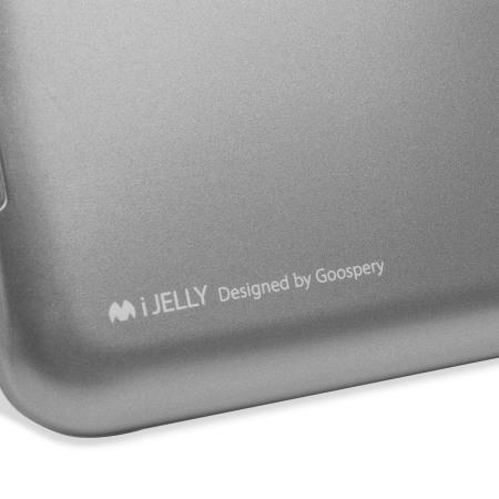 Mercury Goospery iJelly Samsung Galaxy J5 2015 Gel Case - Grey