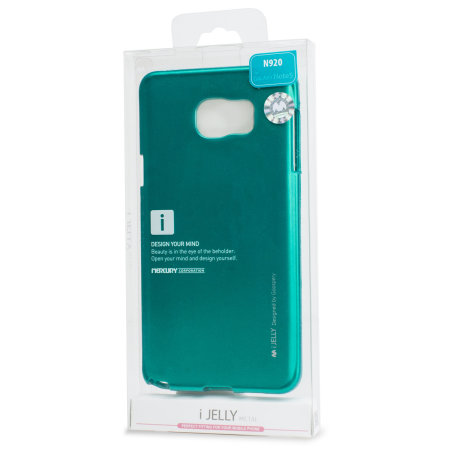 Mercury Metallic Finish Hard Case Samsung Galaxy Note 5 - Green