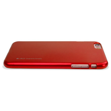 Mercury iJelly Metallic Case iPhone 6S Plus / 6 Plus - Red