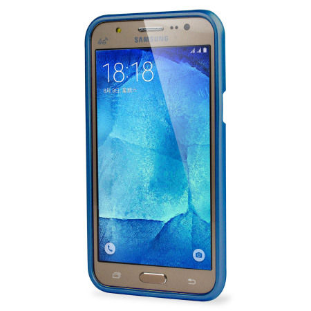 Mercury goospery ijelly samsung galaxy j5 2015 gel case blue reviews
