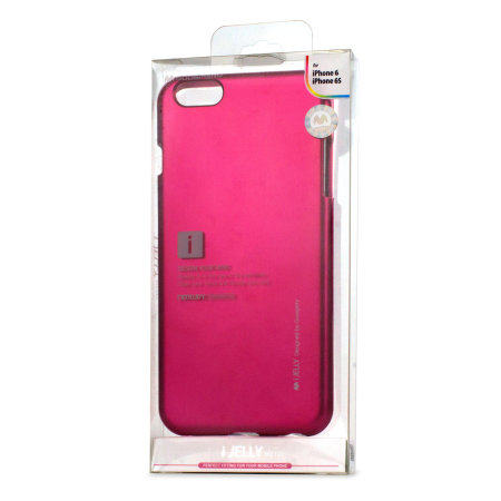 Mercury Goospery iJelly iPhone 6S / 6 Gel Case - Metallic Pink