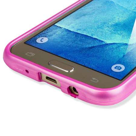 Mercury iJelly Goospery Samsung Galaxy J5 2015 Gel Case - Hot Pink