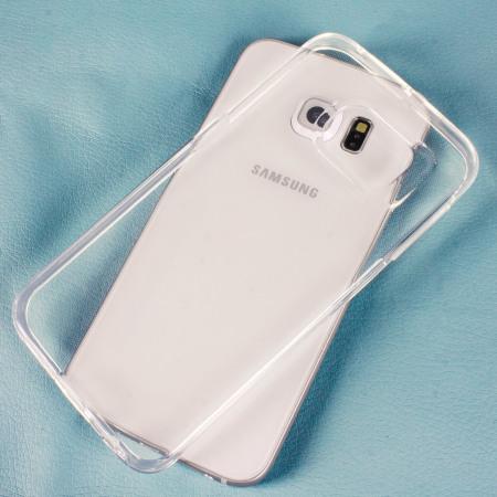 hot sale online 06226 36bf6 Mercury Goospery Jelly Samsung Galaxy S6 Edge Gel Case - Clear