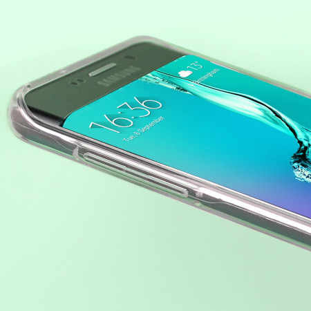 Mercury Goospery Jelly Samsung Galaxy S6 Edge Plus Gel Case - Clear