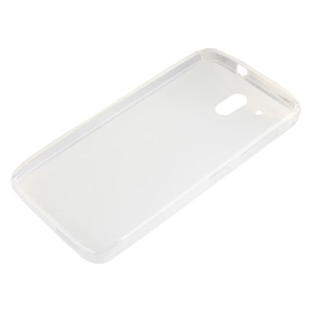 FlexiShield HTC Desire 526 Gel Case - Frost White