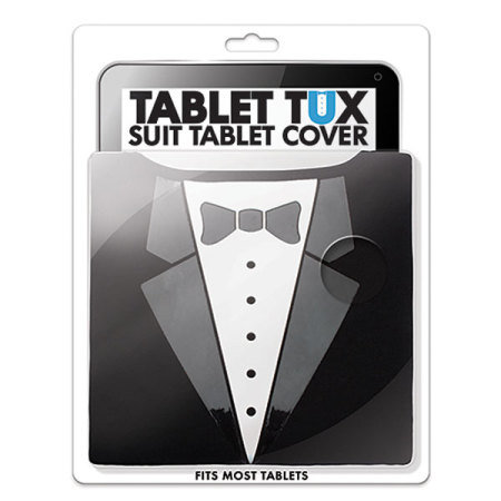 Tuxedo Smart Suit Universal 9-10 Inch Fitting Tablet Cover - Black