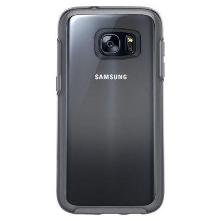 OtterBox Symmetry Clear Samsung Galaxy S7 Case - Grey