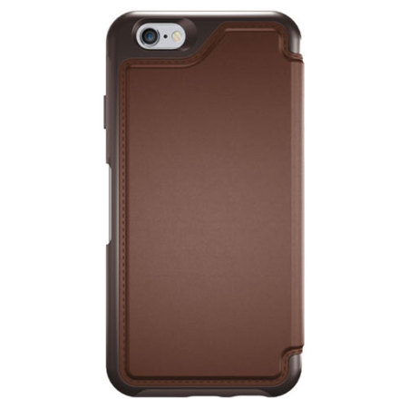 low priced d5b80 430aa OtterBox Strada Series iPhone 6S Plus / 6 Plus Leather Case - Saddle