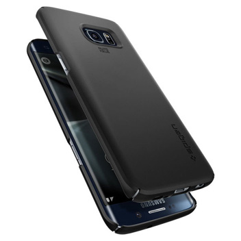 check out 3e708 10232 Spigen Thin Fit Samsung Galaxy S7 Edge Case - Black