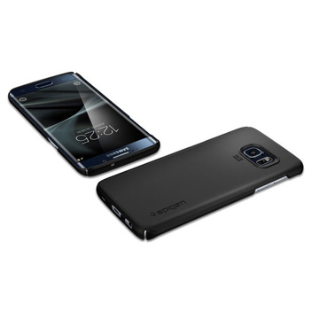 Spigen Thin Fit Samsung Galaxy S7 Edge Case - Black