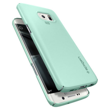 best website 9ba47 1dc6e Spigen Thin Fit Samsung Galaxy S7 Edge Case - Mint