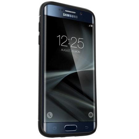 sports shoes 45a37 18081 Spigen Rugged Armor Samsung Galaxy S7 Edge Tough Case - Black