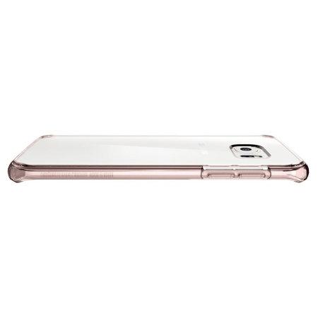 Spigen Ultra Hybrid Samsung Galaxy S7 Edge Case - Rose Crystal