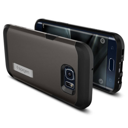 Spigen Tough Armor Samsung Galaxy S7 Edge Case Hülle in Gunmetal