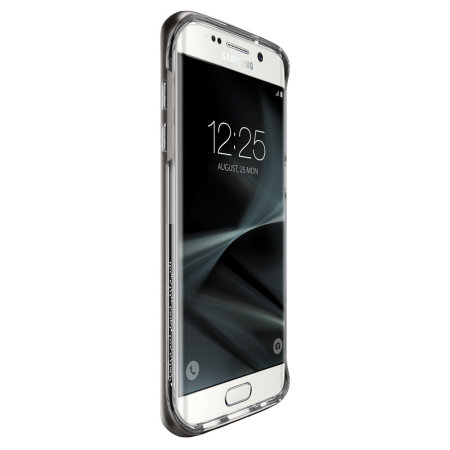 Spigen Neo Hybrid Crystal Samsung Galaxy S7 Edge Case - Gunmetal