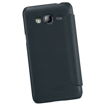 Nillkin Sparkle Big View Window Samsung Galaxy J3 2016 Case - Black