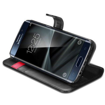 Spigen Samsung Galaxy S7 Edge Wallet S Case - Black